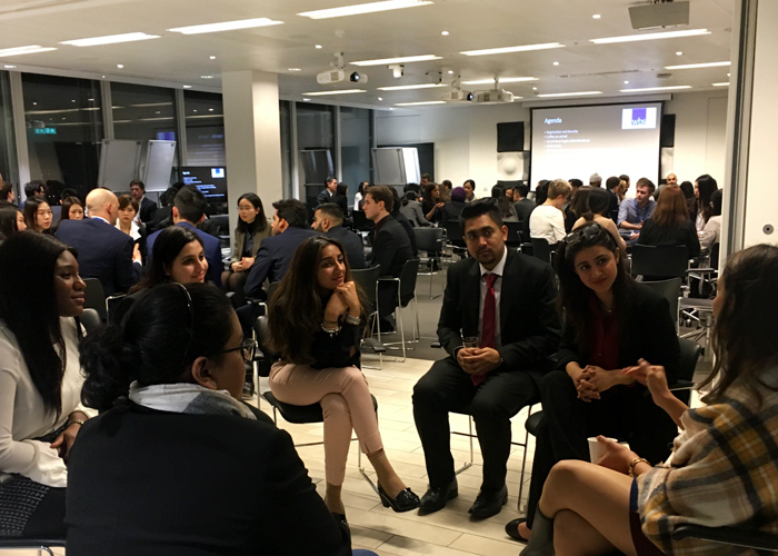 MSc Business (Consulting) students speak with experts from the industry