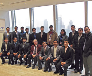 IIM-A students at The Shard