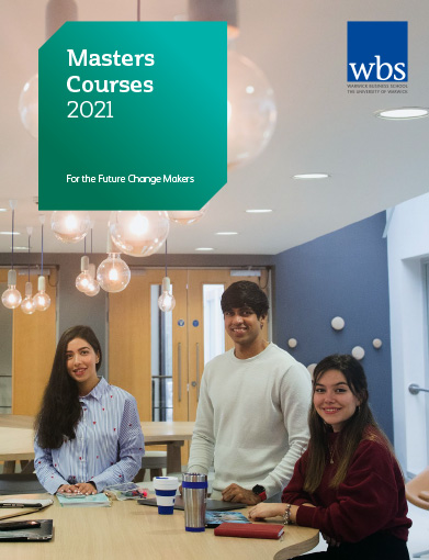 Warwick Business School's 2021 Postgraduate brochure