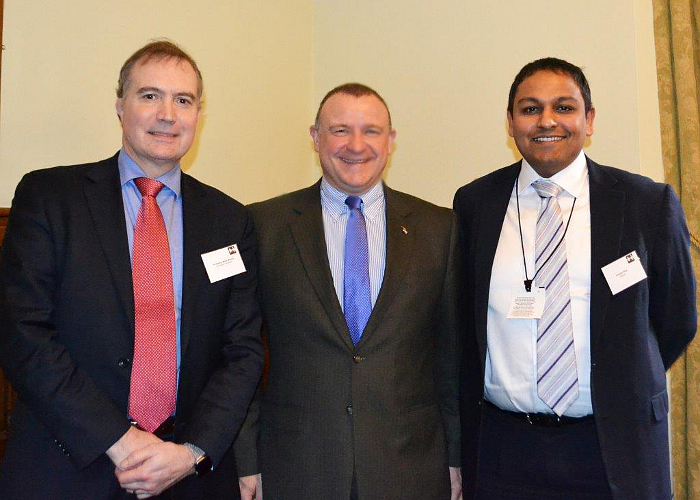 Professor Mark Skilton Drew Hendry MP Anirban Roy Arqiva