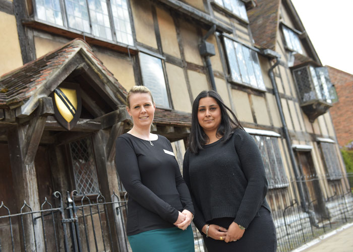 Sandip Thathy on her placement at the Shakespeare Birthplace Trust