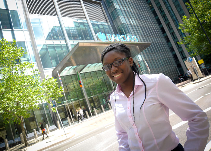 Silvia Bonku on her Barclays placement