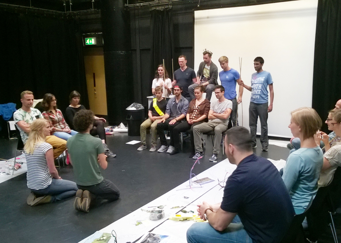 Discovering new business ideas through creative role play at WBS Climate KIC summer school