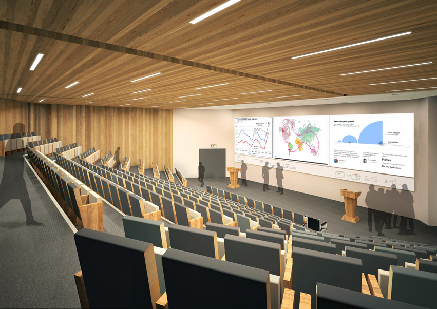 Interior Of 163 30m Wbs Extension Revealed News Warwick