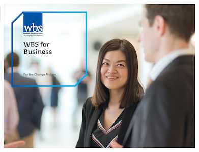 Warwick Business School's business brochure
