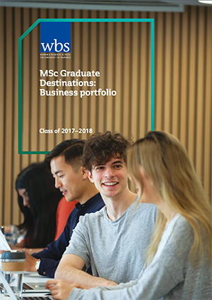 Warwick Business School's MBA Talent Profiles