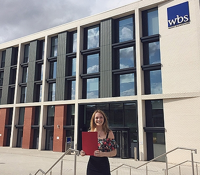 Finance alumni insight: how a WBS scholarship helped me