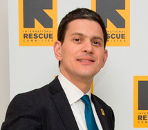David Miliband on his efforts to help world's refugees
