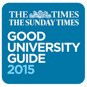 The Times and Sunday Times Good University Guide 2015