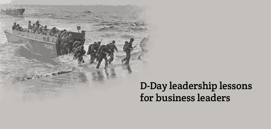 Business leaders can learn a lot about leadership from the experiences encountered in the Second World War according to WBS academics.