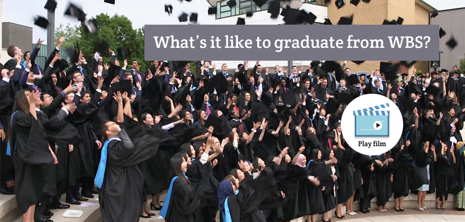 What is it like to graduate from WBS? Students from the summer graduation ceremony discuss their thoughts on the big day.