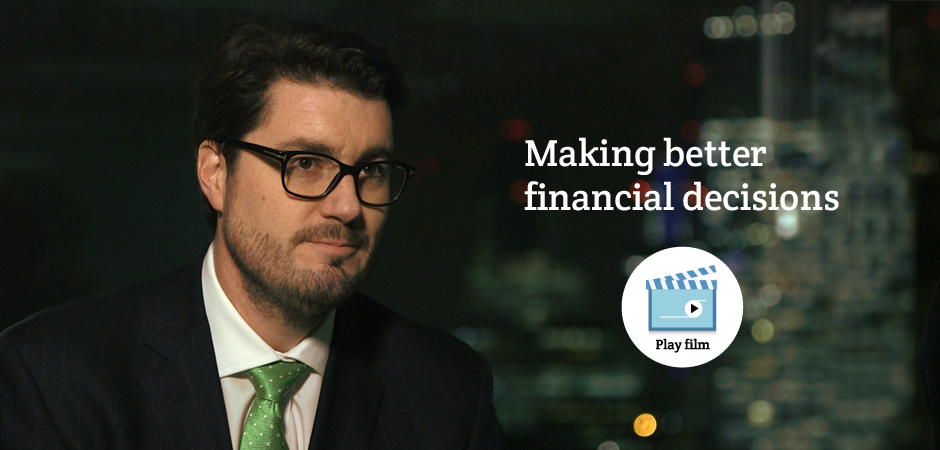 Greg Davies, Head of Behavioural Quant-Finance at Barclays Bank PLC, discusses behavioural science at WBS London.
