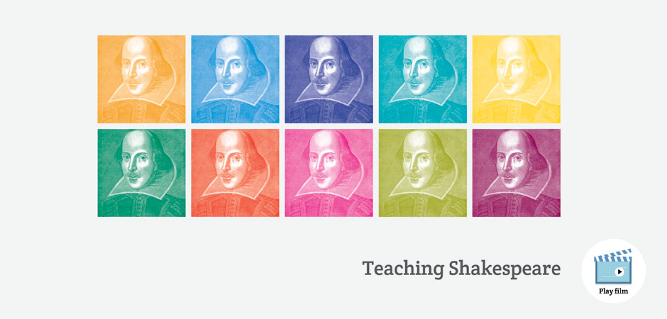 Teaching Shakespeare, our partnership with the Royal Shakespeare Company
