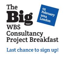 WBS is offering companies the opportunity to discover how they can exploit big data at the Big WBS Consultancy Project Breakfast in London.