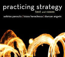Book cover of Practicing Strategy
