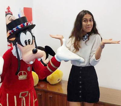 Shachi's story: Working as a Commercial Development Intern at Disney
