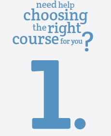 Need help choosing the right course?