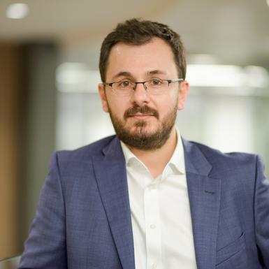 Photograph of Dr Christo Kolympiris.